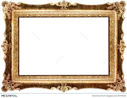Antique Frame Illustration 5979552 Megapixl