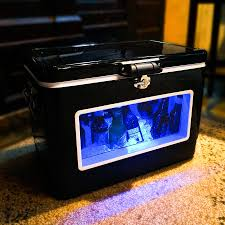 Igloo Ice Chest With Led Lights Brekx Illuminated Led Party Cooler With Window