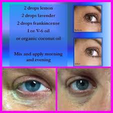 essential oils eye cream