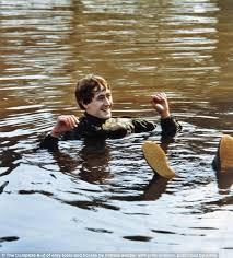 big splash nbsp rodney ends up in a pond in a 1985 episode in