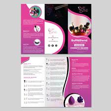 Upmarket Professional Hair And Beauty Flyer Design For