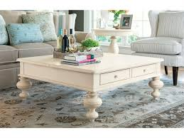 paula deen home linen 44 square put your feet up coffee table 996801