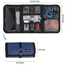 Cable Organizer, Travel Organizer,Valkit Best Electronics Accessories Wire  Cord Cables Tires Wrap Case
