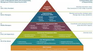 management and leadership development management systems pyramid of management and leadership development