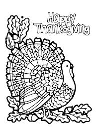 Thanksgiving Color Sheets Free Printable Color Pages For