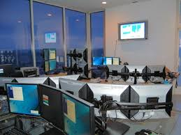 Live Forex Trading Room Interior
