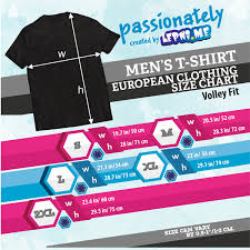 Volley Size Chart Product 2 Light Your Team Black Tsvetan Sokolov