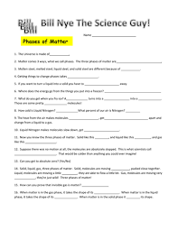 Bill Nye Video Worksheets Motion In Summary Sample with Bill Nye Video  Worksheets Motion