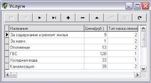 База данных Оплата жилищно коммунальных услуг interbase  Курсовая работа delphi