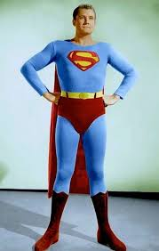 Image result for free image of george reeves superman