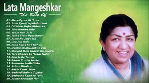 Lata Mangeshkar - Best Evergreen Romantic Song - Lata Mangeshkar ...