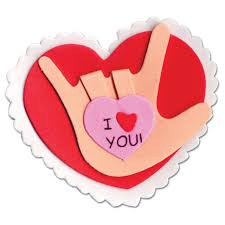 I Love You Crafts Maxiaids Sign Language I Love You Pin Craft Kit