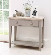 narrow console table with drawers  decorative table decoration