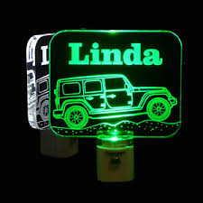details about jeep personalized led night light kids l truck personalized gifts dad