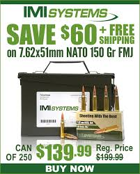 Midwayusa Save 60 Free Shipping On Imi 7 62x51mm 150 Gr