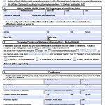 florida form 82050 free florida dmv vehicle bill of sale form pdf word doc
