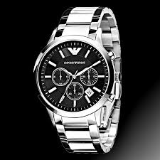 emporio armani ar2434 mens watch edelstahl chronograph watch emporio armani ar2434 mens watch edelstahl chronograph