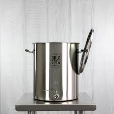 stainless steel cold brew coffee system 15 gallon 50 micron