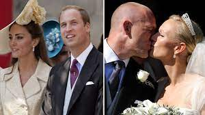 Zara and mike's big day was the second royal wedding of that year, following prince william and kate middleton's nuptials on 29 april, but as many put it back. Kate Middleton And Prince William At Zara Phillips S Wedding In Scotland Youtube