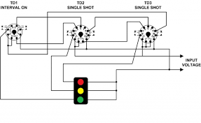 wiring diagram for time delay relay the wiring diagram using time delay relays to cycle a traffic signal wiring diagram