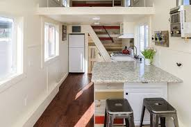 Small Picture Rustic modern tiny house shows another clever way to do the stairs