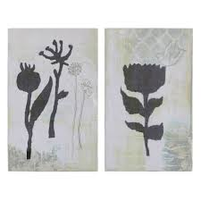 about this item on white flower wall art target with canvas flower wall art gray 2pk 3r studios target
