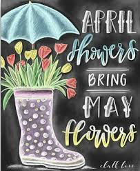 Designs By April Etsy April Showers Bring May Flowers With The Winter Weather