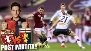 TORINO - GENOA 0-0 / POST PARTITA!! - YouTube