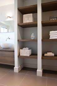 Love these shelves in the bathroom. Bathroom by Baden Baden Interior  Amsterdam Design Marco Bolderheij