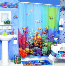 Bathroom Fish Decor Kids Bathroom Decor As Kids Bathroom Decorating Ideas For The