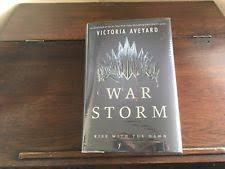 red queen war storm 4 by victoria aveyard signed 1st 1st