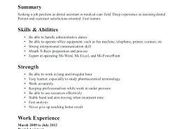 Sample Resume Objectives For Teachers Resume Objective For Office Job Example Of Resume Objectives For 95
