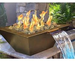 fire pit control valve gas fire pit water feature with electronic ignition propane fire pit control