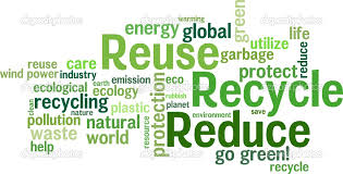 reduce reuse recycle the society and the environment image