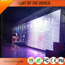 p16 outdoor flexible led curtain display screen for commercial advertising