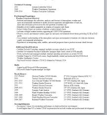 Meteorologist Sample Resume Stunning Image View Resume Chief Meteorologist Modern Professional Resume