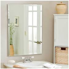 top 86 cool large decorative bathroom wall mirrors without frame cabinets size of small framed vanity