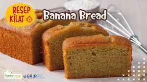 Watch how to make healthy banana bread in this short recipe video! Resep Banana Bread Yang Manis Dan Empuk Cuma Butuh 5 Bahan Youtube