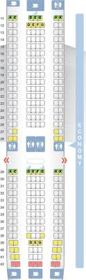 Boeing 757 Seating Chart Aer Lingus Aer Lingus Direct Routes From The U S Plane Types Seat