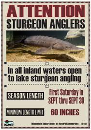Fishing Wisconsin Sturgeon Hook And Line Season Wisconsin Dnr