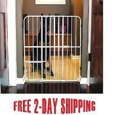 image is loading metalpetgateindoorwidedogfencebarrier wide pet gates r25
