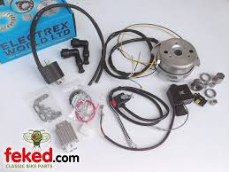 electrical ignition system electronic ignition electronic electronic ignition lighting replacement alternator kit triumph bsa norton royal enfield models