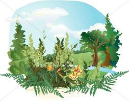 garden of eden clipart