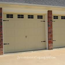 Contemporary Faux Carriage Garage Doors Cost For This Project Was Just The Of On Decorating Ideas