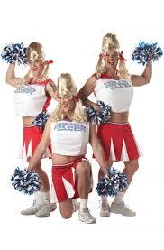 Varsity Cheerleader Adult Costume