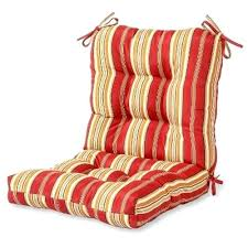 outdoor seat back cushion outdoor seat back chair cushion stripe home fashions custom outdoor seat cushions