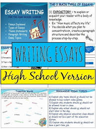 best school essay ideas english writing essay essay writing review notes organizers examples handouts essay writing tipswriting processexpository writingenglish classroomhigh school
