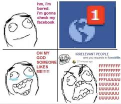Facebook, The Delivery Man Of Indirect Messages by gafcomics ... via Relatably.com