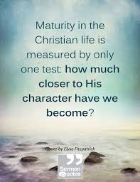 Christian Maturity Quotes