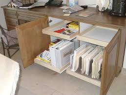 ... HOME OFFICE STORAGE FILE DRAWER COMPUTER SHELF PULL OUT SHELVES THAT  SLIDE KEYBOARD TRAY SMALL SPACE